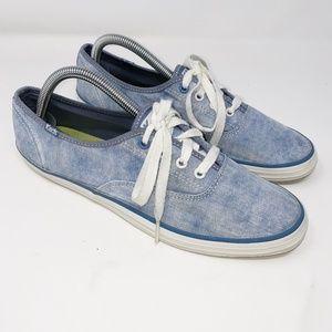 Keds Champion Blue Striped Shoe